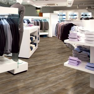 Floors and More Washed Pine Brown LVT