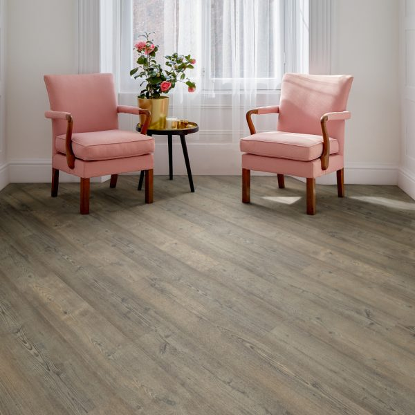 Floor and More Grey Stained Pine LVT