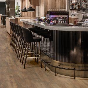 Floors and More Rustic Oak Brown LVT