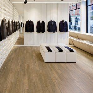 Floors and More Brushed Oak Medium LVT