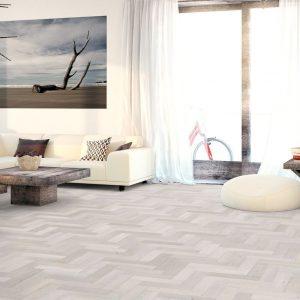 FloorsAndMore Engineered White Washed