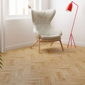FloorsAndMore - Herringbone Laminate Narbona