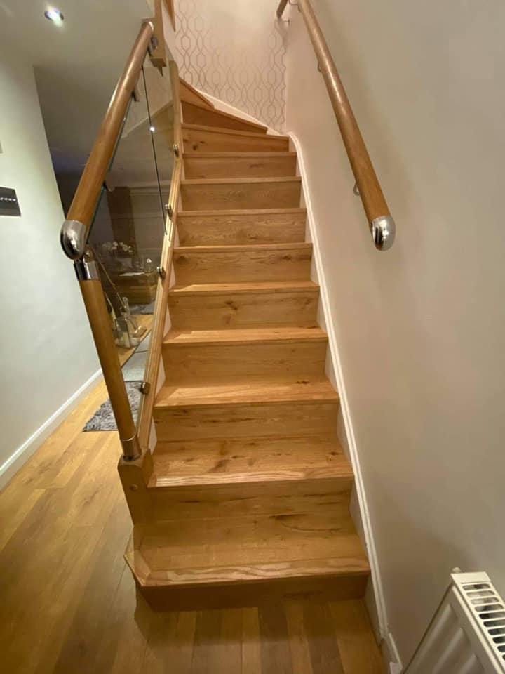 Engineered Wood Staircase
