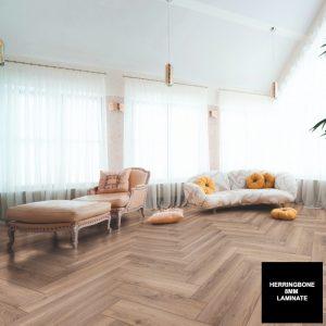 FloorsAndMore - Metz Oak 8mm Herringbone 3766