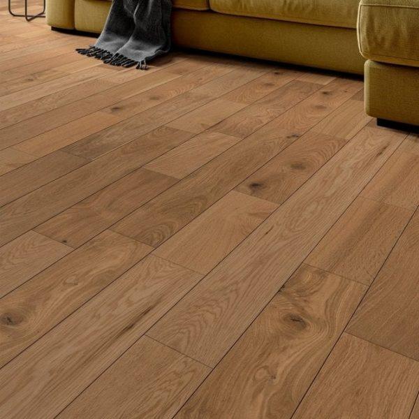 FloorsAndMore - Brushed Engineered Oak