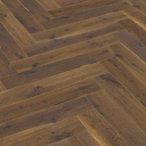 FloorsAndMore - Coffee Oak - Herringbone